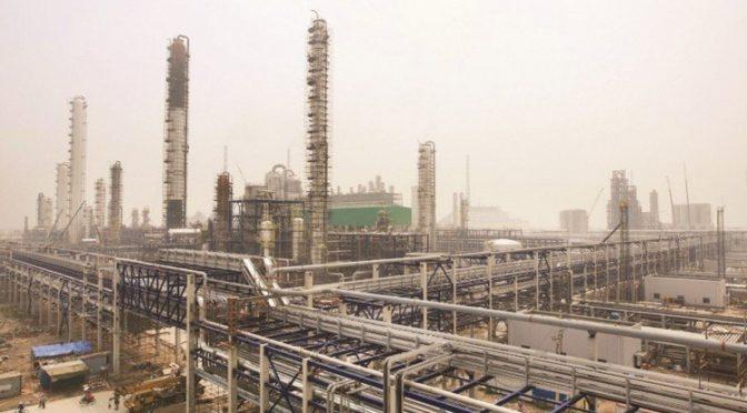 Промышленный морской порт им.Короля Фахда в Янбу за 6 мес. обработал 40 млн.тонн грузов