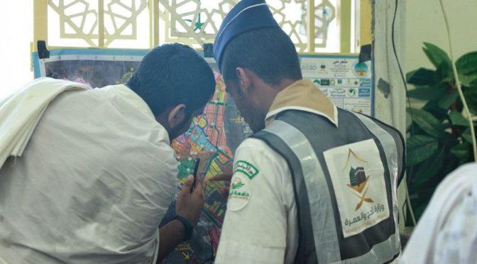 Саудийские скауты направили 94986 паломников в Ид аль-адха