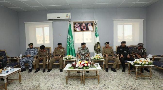 Командующий силами безопасности Хаджа осматривает готовность обеспечивающих безопасность Хаджа резервистов