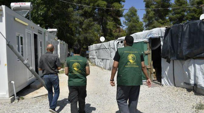 Центр гуманитарной помощи им.Короля Салмана отслеживает проекты помощи сирийским беженцам в Греции