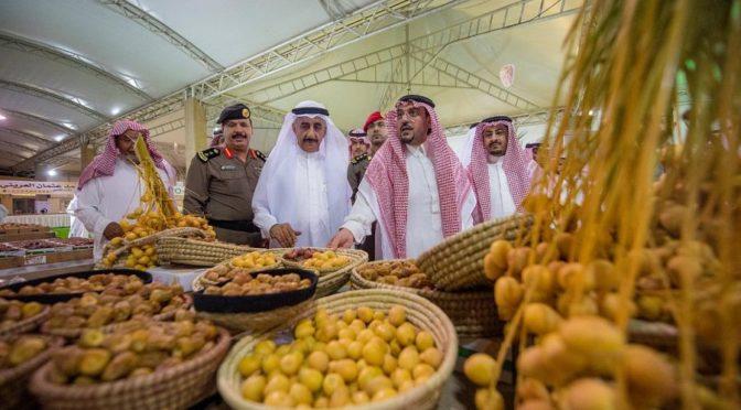 Губернатор провинции Касым присутствовал на фестивале фиников Рияд аль-Хубра