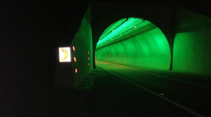 Министерство транспорта оснастило дополнительным освещением  два тоннеля в Акаба Далиа