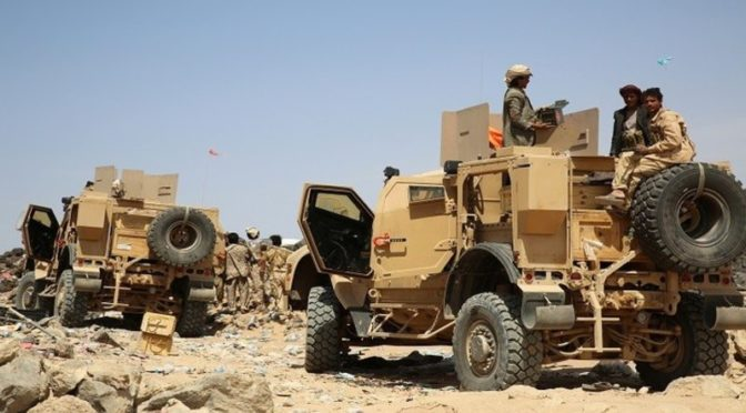 Сорвана попытка проникновения хусиитов в Тахита, нанесены удары по их позициям в Бейт аль-Факихи