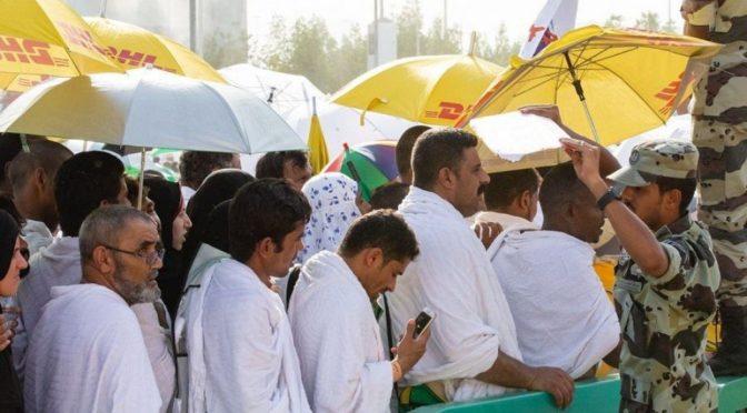 Силы безопасности в Мина: оберегающие глаза и действующие руки