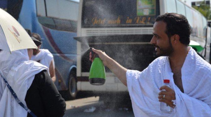 При восхождении на Арафат: Охлади, о Хадж