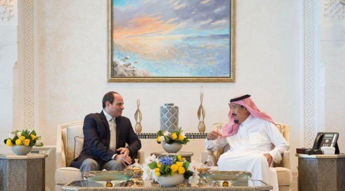 Служитель Двух Святынь принял в NEOM президента Египта