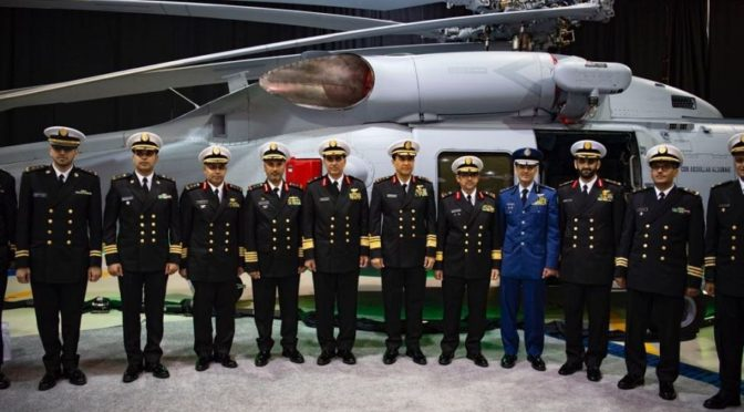 Министерство обороны в США анонсирует новый вертолёт ВМФ Саудии марки MH-60R