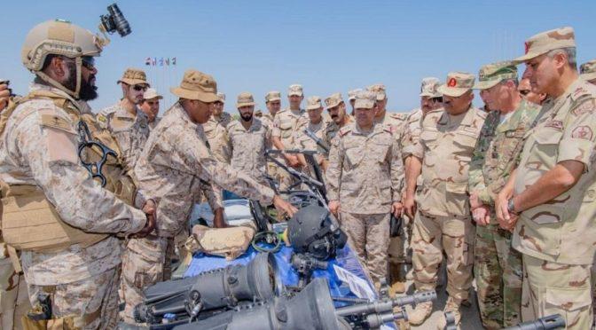 В Египте начались учения «Яркая звезда 2018», в которых участвуют Вооружённые силы Саудии
