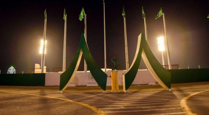 Наджран украшается и готовится к 88-ой годовщине Дня отечества