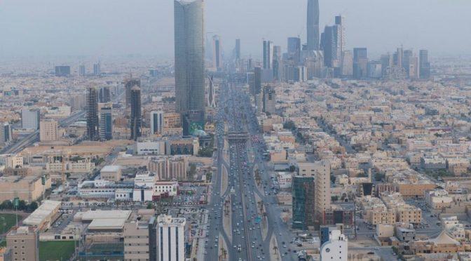 День отечества в г.Эр-Рияд — вид с высоты птичьего полёта