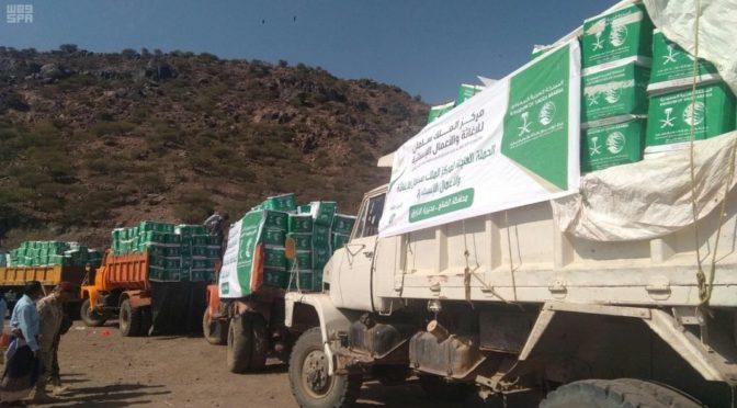 Центр гуманитарной помощи им.Короля Салмана доставляет гуманитарную помощь нуждающимся в провинции Далиа