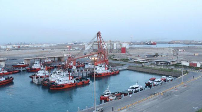 Промышленный порт Янбу зафиксировал наибольшее число принятых судов