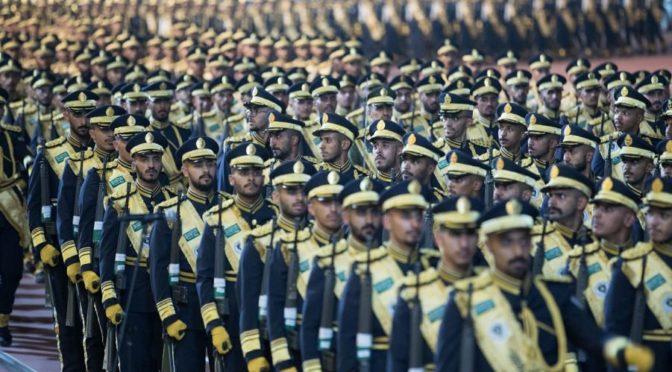 Его Высочество Министр внутренних дел посетил 17-ую церемонию выпуска учащихся Колледжа сил безопасности им.Короля Фахда
