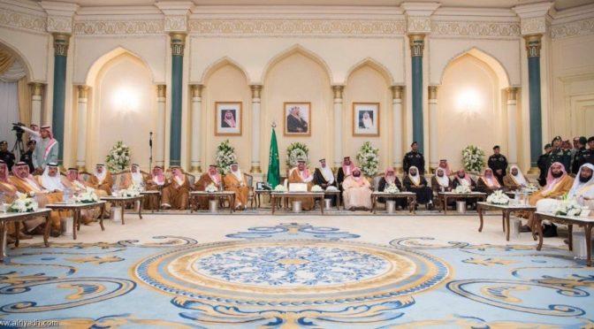 Служитель Двух Святынь посетил церемонию приёма жителей Лучезарной Медины и открыл ряд проектов в провинции
