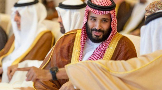 Наследный принц посетил фестиваль верблюдов