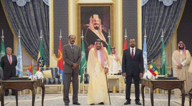 Министерство информации: патронаж Королевства в заключении мирного соглашения между Эфиопией и Эритреей вызвал широкий международный интерес