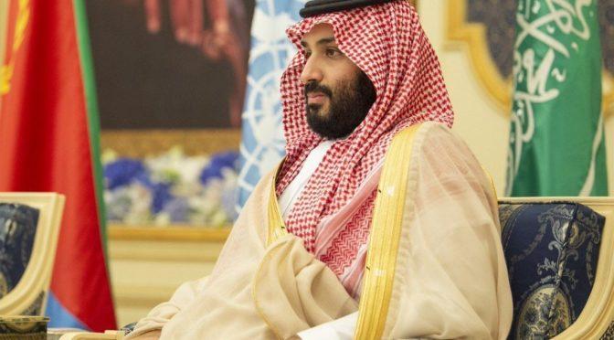 Его Высочество наследный принц встретился с генеральным секретарём ООН