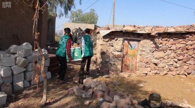 Центр им.Короля Салмана доставляет гуманитарную помощь в провинции Далиа и Маариб