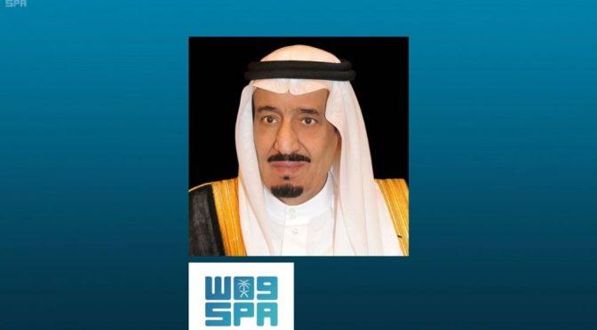 Служитель Двух Святынь принял посла Кувейта в Королевства в связи с истечением срока его работы в Королевстве