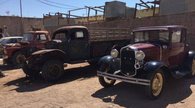 Подданный из Табука коллекционирует и ремонтирует ретроавтомобили