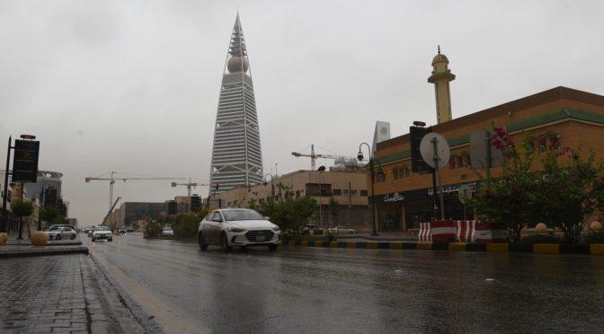 Дожди оживляют г.Эр-Рияд