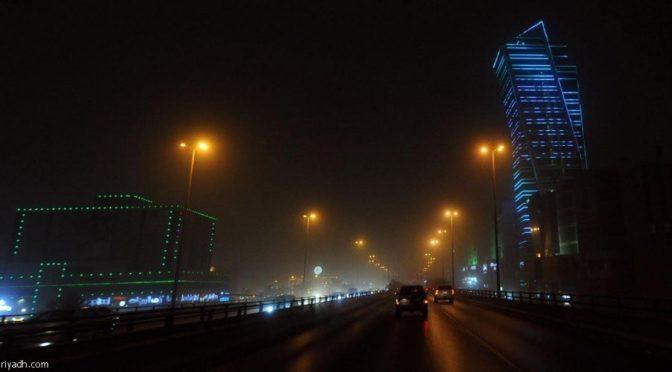 Пыль накрыла Эр-Рияд