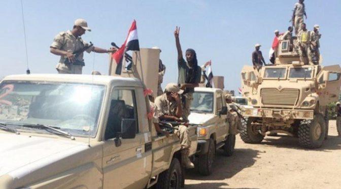 Десятки хусиитов были уничтожены в боестолкновениях и в следствии ударов коалиции