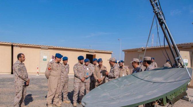 Завершились учения Военного ракетного центра 2018 на авабазе в  Зафра, проводимые с участием ВВС Саудии