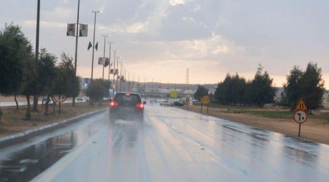 Дожди в провинции Джуф