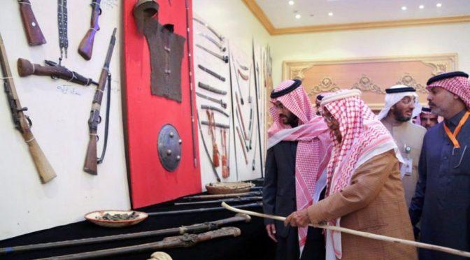 Заместитель губернатора провинции Хаиль открыл 1-ый  фестиваль «Исторический путь Зубайды»