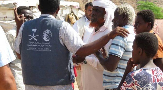 Центр   им.Короля Салмана оказывает гуманитарную помощь в провинциях Далиа и Махра