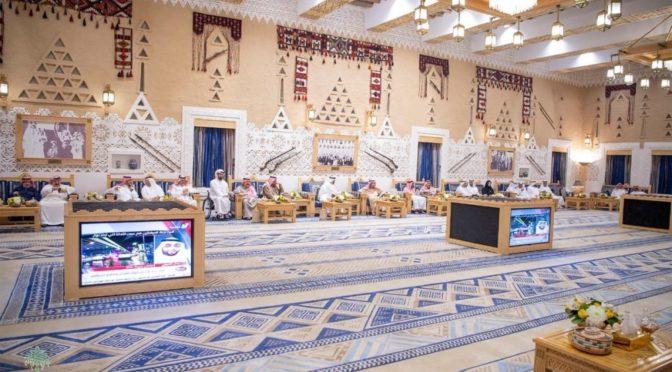 Служитель Двух Святынь принял наследного принца Абу Даби
