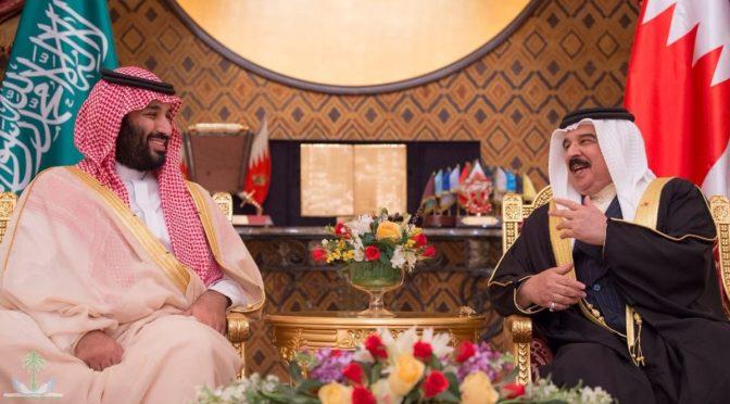 Наследный принц провёл переговоры с Королём Бахрейна