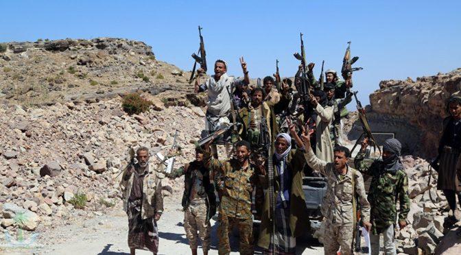 ПВО армии Йемена сбили разведовательный БПЛА мятежников  в муниципалитете Марис