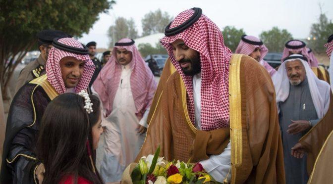 Принц Мухаммад бин Салман посетил нескольких подданных в их домах в Касыме