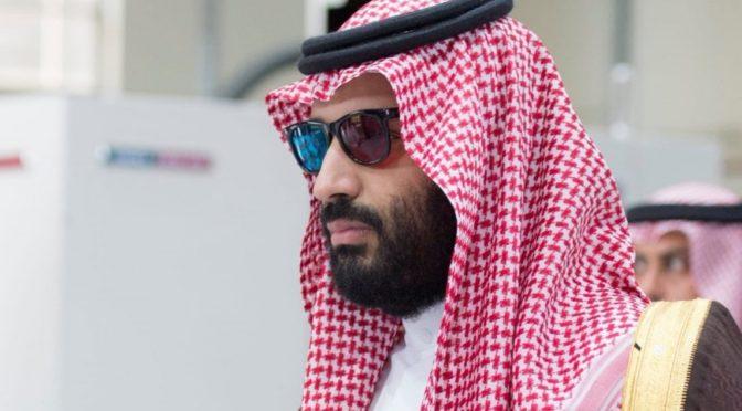Наследный принц открывает семь стратегических проектов