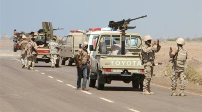 Армия Йемена продвигается в направлении Баким,  устанавливая контроль над позициями на севере Саады