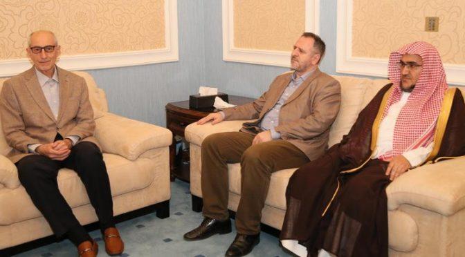 ал-Шейх обсудил с муфтием Боснии совместную работу по служению Исламу и распространение умеренности