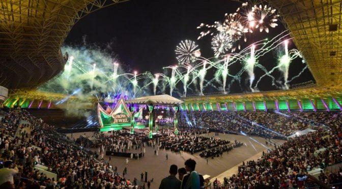 Чемпионат по борьбе World Wrestling Entertainment направляется в Эр-Рияд