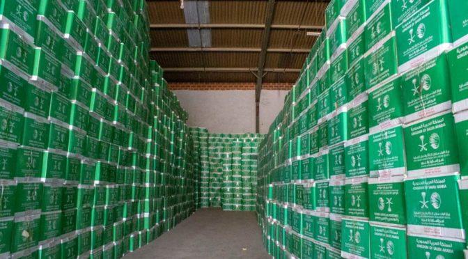 Бригада Центра гуманитарной помощи им.Корооля Салмана доставила первую партию гуманитарной помощи беженцам в северо-восточных районах Нигерии