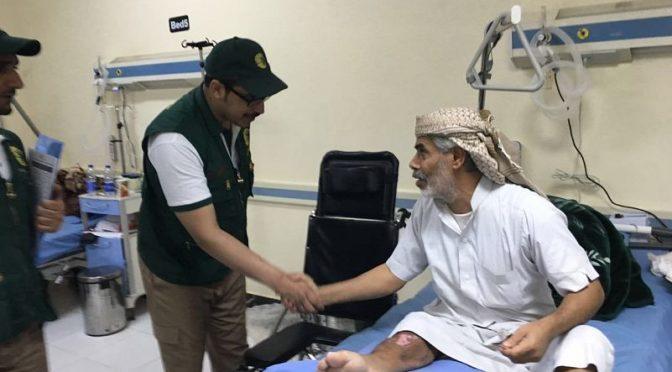 Центр гуманитарной помощи им.Короля Салмана предоставил помощь 21 тыс.травмированным и раненым в Йемене и за его пределами
