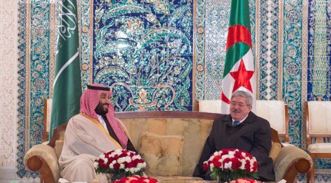 Принц Мухаммад бин Салман прибыл в Алжир