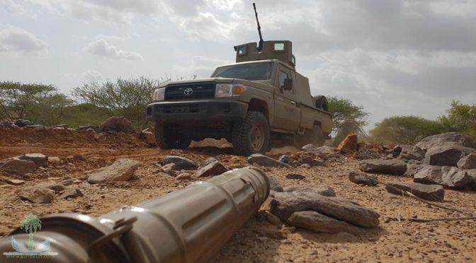 Армия Йемена обнаружила склады оружия и траншеи в муниципалитете Баким