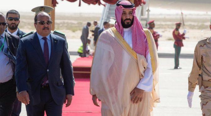 Наследный принц прибыл в Мавританию в рамках турне по арабским странам