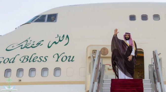 Наследный принц покинул Алжир