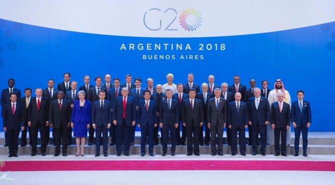 В Буэнос-Айрисе началась работа саммита  глав государств-членов G20 при участии наследного принца