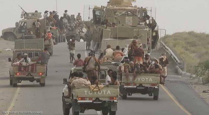 саудийские гуманитарные конвои в селения в муниципалитете  Харада в Йемене
