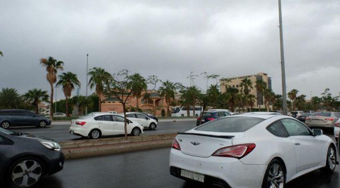 Дожди в округе Джидда