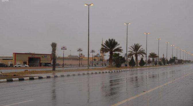 Дожди над округом Тайма и административным центром Хала Аммар