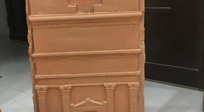 Саудиец создаёт объёмные модели памятников Мадаину Солих